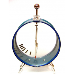 Gold Leaf Electroscope Round Big