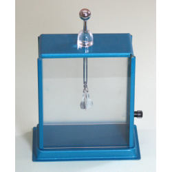 Gold Leaf Electroscope Rectangular Big